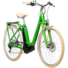 Cube Ella Ride Hybrid 400 Easy Entry, verde